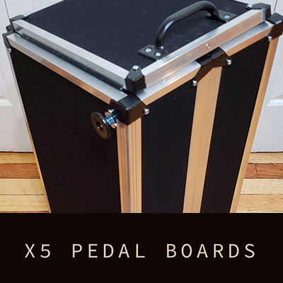 X5 Pedalboards